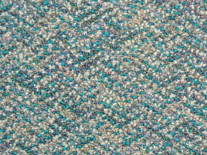 Chevron Carpet Tiles - Recycled C Grade - Seafoam - 50cm x 50cm