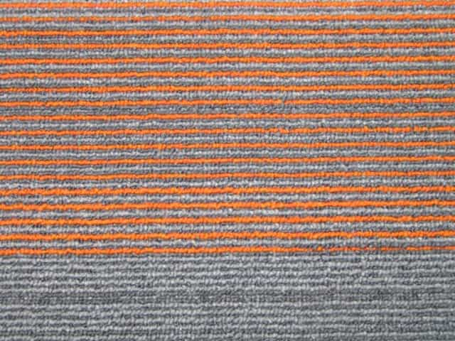 Gradus Plank Carpet Tiles - Clearance - Neon Carrot - 100cm x 25cm