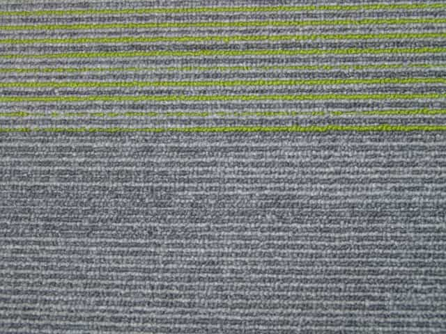 Gradus Trials Carpet Tiles - Clearance - Granny Smith - 100cm x 25cm