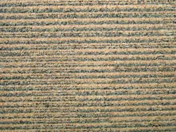 Interface Carpet Tiles - Recycled C Grade - Beige stripe - 50cm x 50cm
