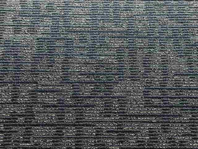 Linear Loop Carpet Tiles - Recycled A Grade - Blue - 50cm x 50cm