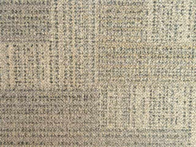 Milliken Geometric Carpet Tiles - Recycled B Grade - Beige/Grey - 18
