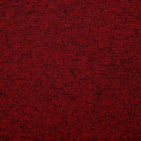 Modulyss First Carpet Tiles - Red 316 - 50cm x 50cm