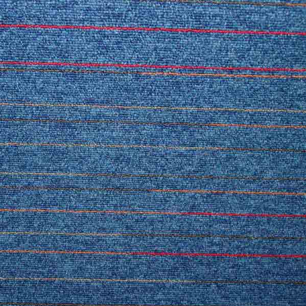 Modulyss First Lines Carpet Tiles - Blue 556 - 50cm x 50cm