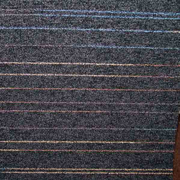 Modulyss First Lines Carpet Tiles - Black 971 - 50cm x 50cm